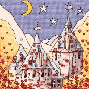 Michael Powell Fairy Castle Cross-Stitch Chart