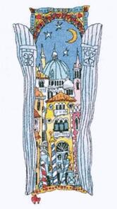 Michael Powell  Venice Window 4 Cross-Stitch Chart