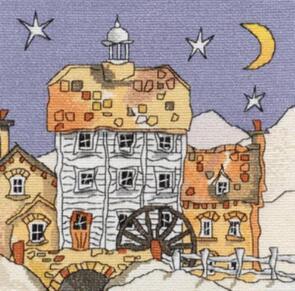 Michael Powell Watermill Cross-Stitch Chart