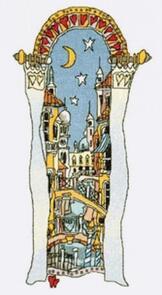 Michael Powell Venice Window 1 Cross-Stitch Chart