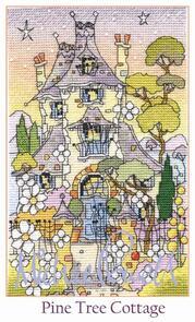 Michael Powell Pine Tree Cottage Cross-Stitch Kit
