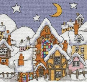 Michael Powell  Church Window Cross-Stitch Chart