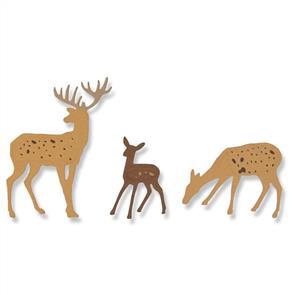 Sizzix  Thinlits Die - Woodland Deer
