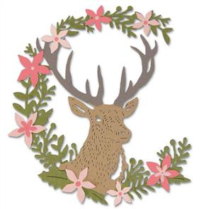 Sizzix  Thinlits Die - Deer