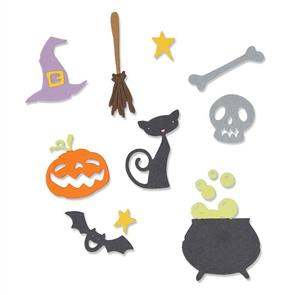 Sizzix  Thinlits Die - Halloween Set