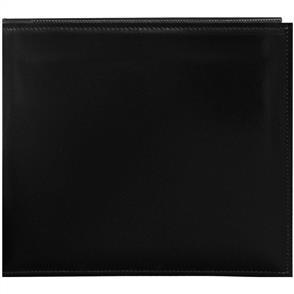 """Pioneer  Snapload Sewn Leatherette Album 8""""X8"""" - Black"""