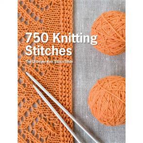 St. Martin's Books 750 Knitting Stitches