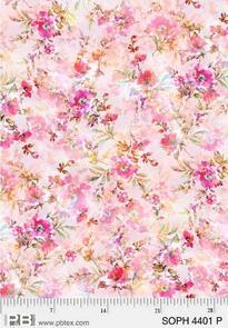 P & B Textiles Sophia - 4401 - Pink - Floral