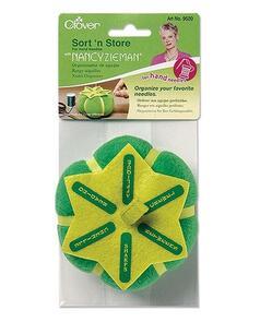 Clover  Sort'N Store Pin Hand Sewing Machine| Nancy Zieman