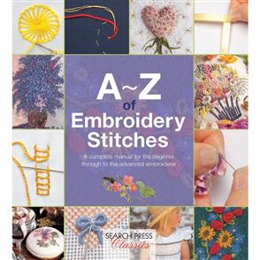A-Z Books  A-Z of Embroidery Stitches