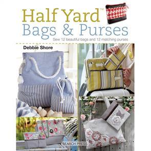Search Press Half Yard Bags & Purses - Debbie Shore