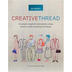 Search Press  Creative Thread - Jo Dixey