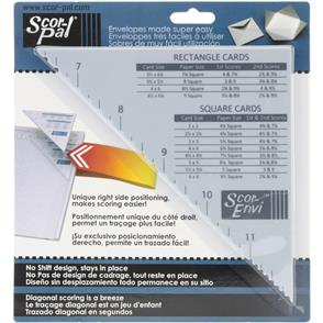 Scor-Pal Scor-Envi Diagonal & Envelope Template