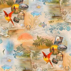 SPX Fabric  Tropical Dreams Multi