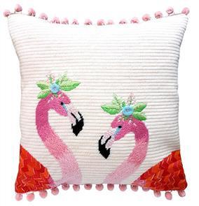 The Stitchsmith  Needlepoint Kit: Flamingo