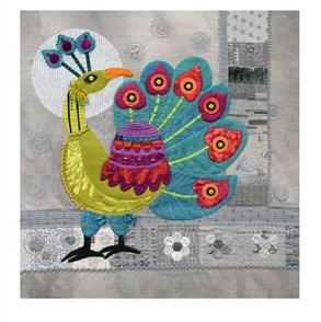 Sue Spargo Peacock Block
