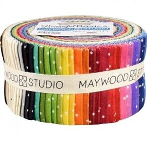 Maywood Studios  Beautiful Basics: Strips Scattered Dots