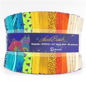 Clothworks  Laurel Burch: Seaside Jelly Roll