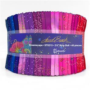 Clothworks  Laurel Burch: Dreamscape Jelly Roll