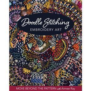 Stash Books Doodle Stitching Embroidery Art