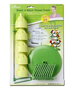 Clover Stack'N Stitch Thread Tower | Nancy Zieman