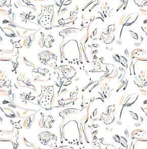 Dear Stella  Designs - Wildlings White - 1376