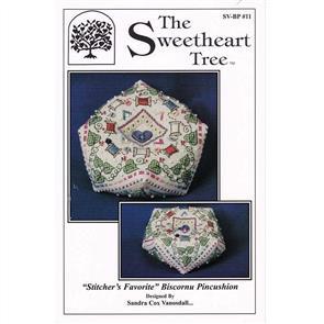 The Sweetheart Tree  Stitcher's Favorite Biscornu (chart)