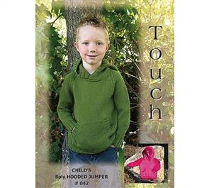 Touch Pattern 042 Child's Hooded Jumper