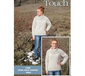 Touch Pattern 053 Cowl Neck Jumper