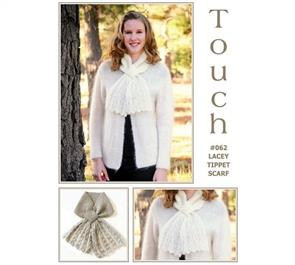 Touch Pattern 062 Lacey Tippet Scarf