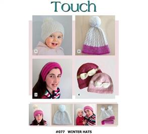 Touch  Pattern 077 Winter Hats
