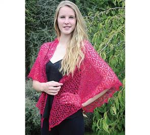 Touch Pattern 087 Beaded Lace Shawl