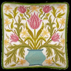 Bothy Threads  Cross Stitch Kit - Vase Of Tulips Tapestry