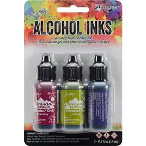 Ranger Ink Tim Holtz Alcohol Ink .5oz 3/Pkg - Farmers Market