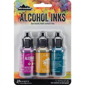 Ranger Ink Tim Holtz Alcohol Ink .5oz 3/Pkg - Nature Walk