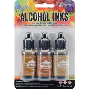 Ranger Ink Tim Holtz Alcohol Ink .5oz 3/Pkg - Cabin Cupboard