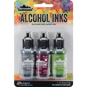 Ranger Ink Tim Holtz Alcohol Ink .5oz 3/Pkg - Cottage Path