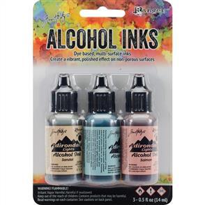 Ranger Ink  Tim Holtz Alcohol Ink .5oz 3/Pkg - Lakeshore