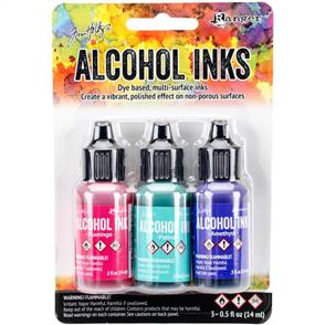 Ranger Ink Tim Holtz Alcohol Ink .5oz 3/Pkg - Beach Deco