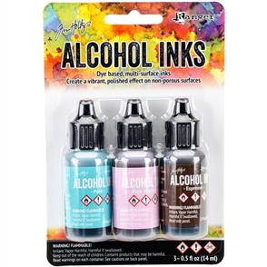 Ranger Ink Tim Holtz Alcohol Ink .5oz 3/Pkg - Retro Cafe