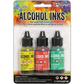 Ranger Ink Tim Holtz Alcohol Ink .5oz 3/Pkg - Key West
