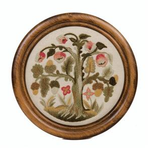 Crewel Work Company Needlework Kit: The Elizabethan Oakapple Tree
