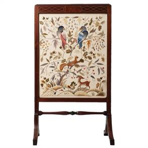 Crewel Work Company Needlework Kit: The Mellerstain Firescreen