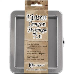 Ranger Ink  Tim Holtz Distress Crayon Tin - Empty