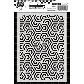 Carabelle  Stencil - Geometry 3
