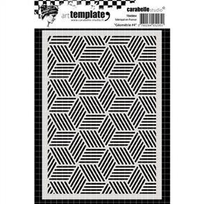 Carabelle  Stencil - Geometry 4