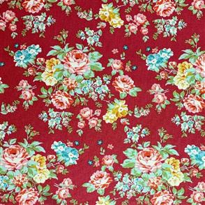Tilda Tilda Fabric - Apple Butter - Shirly Red 100145