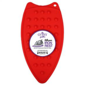 The Gypsy Quilter  Silicone Iron Rest - Red