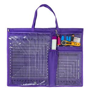 The Gypsy Quilter  ToteOlogy Purple