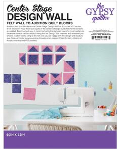 The Gypsy Quilter  Center Stage Design Wall 60in x 72in